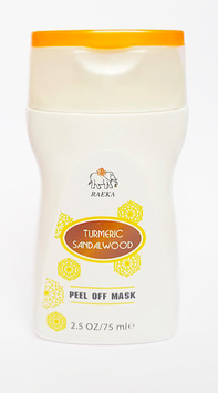 RAEKA Turmeric Sandalwood Peel-Off Face Mask