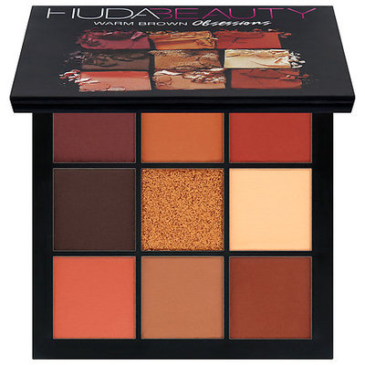 Huda Beauty Obsessions Eyeshadow Palette Warm Brown