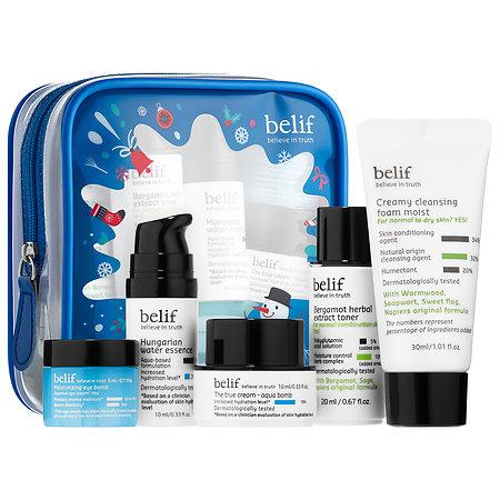 belif Bestsellers On-The-Go Travel Kit