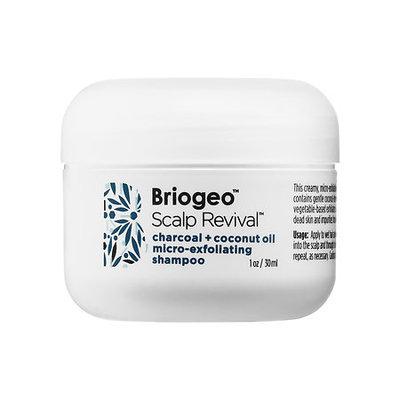 Briogeo Scalp Revival Charcoal + Coconut Oil Micro-exfoliating Shampoo Mini 1 oz/ 30 mL
