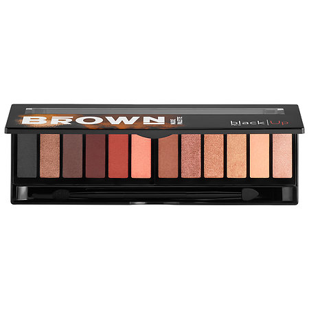 Black Up Brown Nude Palette
