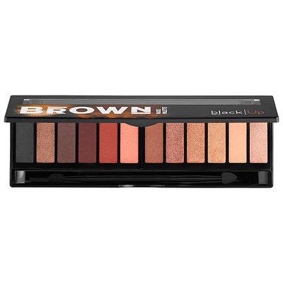 Black Up Brown Nude Palette