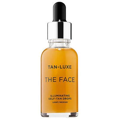 tan luxe the face illuminating self tan drops light medium reviews. Black Bedroom Furniture Sets. Home Design Ideas