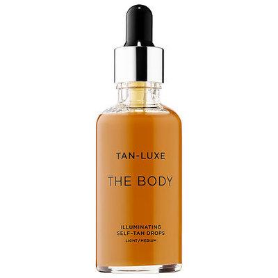 TAN-LUXE THE BODY Illuminating Self-Tan Drops Light/Medium