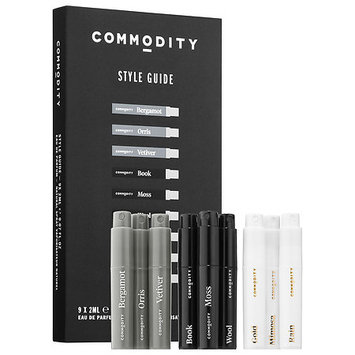 Commodity Style Guide Fragrance Discovery Kit 9 x 0.07 oz/ 2 mL