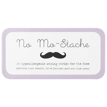 No Mo-Stache Portable Hypoallergenic Waxing Strips for the Face