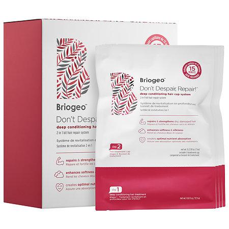 Briogeo Don't Despair, Repair!(TM) Deep Conditioning Hair Cap System 4 treatments