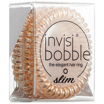 invisibobble SLIM the elegant hair ring Bronze Me Pretty