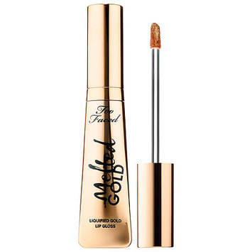 Too Faced Melted Gold Liquified Lip Gloss Melted Gold 1.8 oz