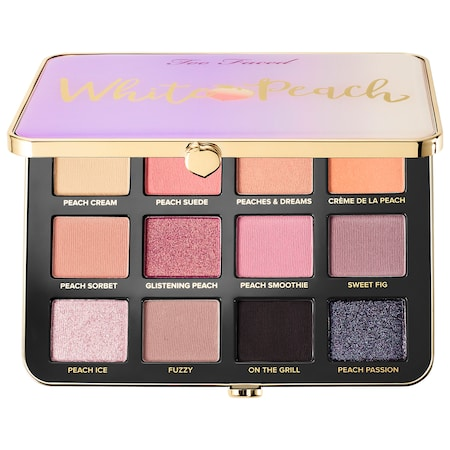 Too Faced White Peach Eye Shadow Palette - Peaches and Cream Collection