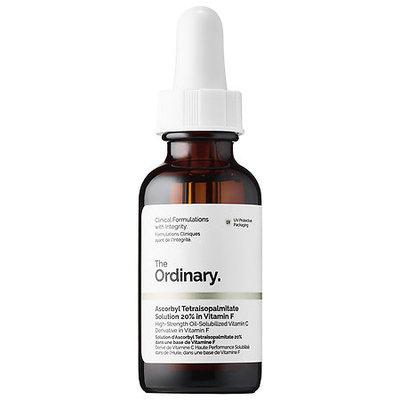 The Ordinary Ascorbyl Tetraisopalmitate Solution 20% in Vitamin F 1 oz/ 30 mL