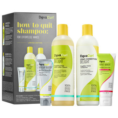 DevaCurl How to Quit Shampoo: For Effortless Waves