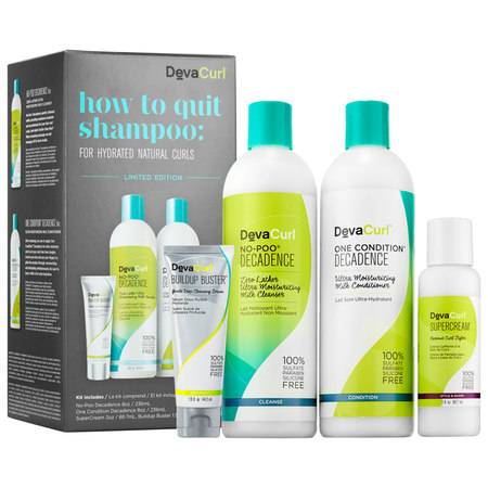 DevaCurl How to Quit Shampoo: For Hydrated Natural Curls
