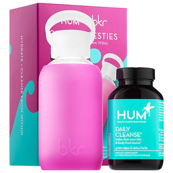 Hum Nutrition Clearly Besties - Hum Nutrition Daily Cleanse x bkr Hydration Duo