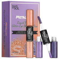 Touch In Sol Metallist Liquid Foil & Glitter Eyeshadow Duo Mini Kit