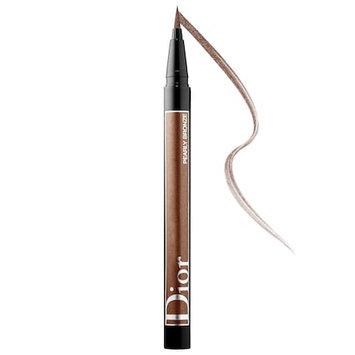 Dior Diorshow On Stage Liquid Eyeliner 466 Pearly Bronze .01 oz/ 0.55 mL
