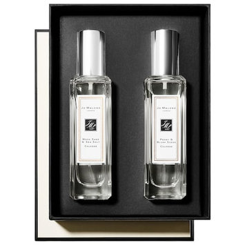 Jo Malone London Wood Sage & Sea Salt and Peony & Blush Suede Cologne Duo 2 x 1.0 oz/ 30 mL