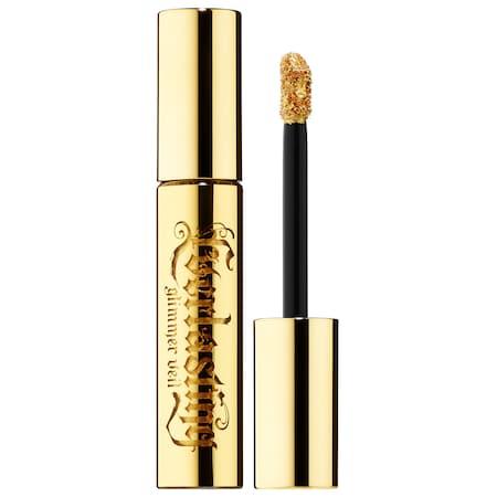Kat Von D 10th Anniversary Everlasting Glimmer Veil Liquid Lipstick Gold Skool