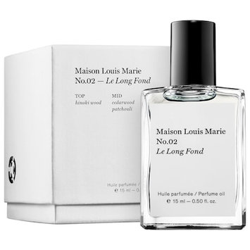 Maison Louis Marie No.02 Le Long Fond Perfume Oil 0.50 oz/ 15mL