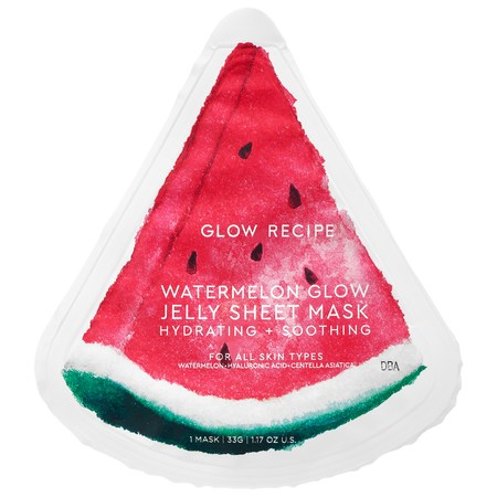 Glow Recipe Watermelon Glow Jelly Sheet Mask 1.17 oz/ 33 g