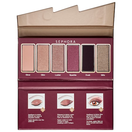 SEPHORA COLLECTION Flash Seqiun Miniature Palette 02 Brown Purple