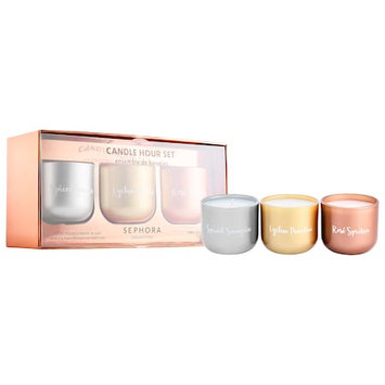 SEPHORA COLLECTION Candle Hour Set 3 x 3.5oz/ 120g
