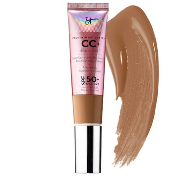 IT Cosmetics Your Skin But Better™ CC+Illumination™ Cream with SPF 50+ Rich Honey 1.08 oz/ 32 mL