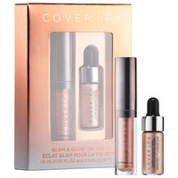 COVER FX Glam & Glow On The Go Minis Set