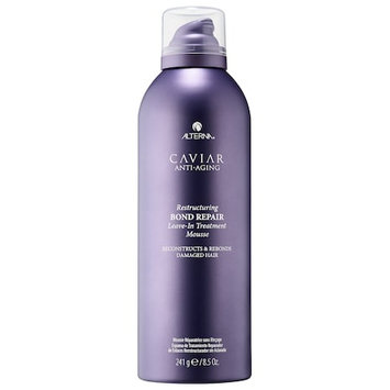 ALTERNA® HAIRCARE CAVIAR Anti-Aging Restructuring Bond Repair Leave-In Treatment Mousse