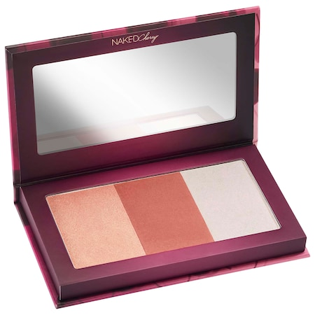 Urban Decay Naked Cherry Highlighter & Blush Palette 3 x 0.17 oz/ 4.8 g
