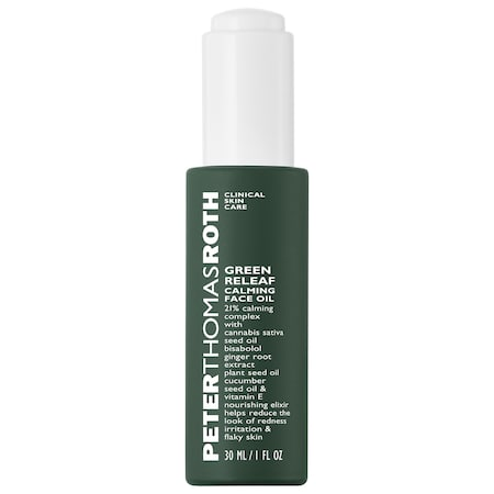Peter Thomas Roth Green Releaf Calming Face Oil 1 oz/ 30 mL