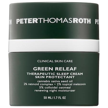 Peter Thomas Roth Green Releaf Therapeutic Sleep Cream 1.7 oz/ 50 mL