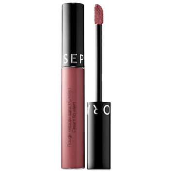 SEPHORA COLLECTION Cream Lip Stain Liquid Lipstick 119 Bubble Bath 0.169 oz/ 5 mL