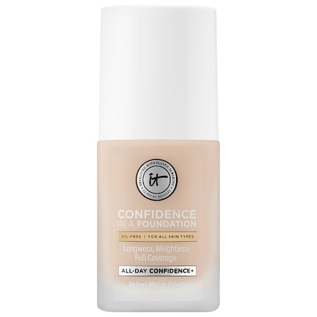 IT Cosmetics Confidence in a Foundation 100 Light Ivory (N) 1 oz/ 30 mL