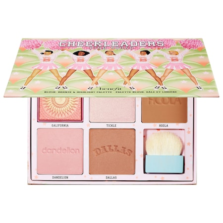 Benefit Cosmetics The Cheekleaders Squad Cheek Palette Pink
