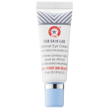 First Aid Beauty FAB Skin Lab Retinol Eye Cream with Triple Hyaluronic Acid 0.5 oz/ 15 mL