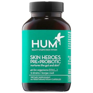 HUM Nutrition Skin Heroes Pre + Probiotic Clear Skin Supplement