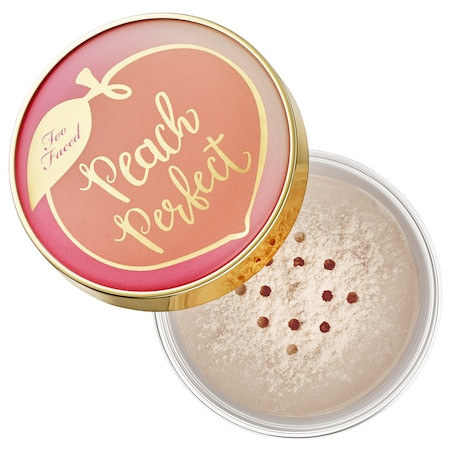 Too Faced Peach Perfect Mattifying Setting Powder - Peaches and Cream Collection Translucent Peach