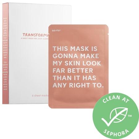 Go-To Transformazing Sheet Masks 6 Sheet Masks