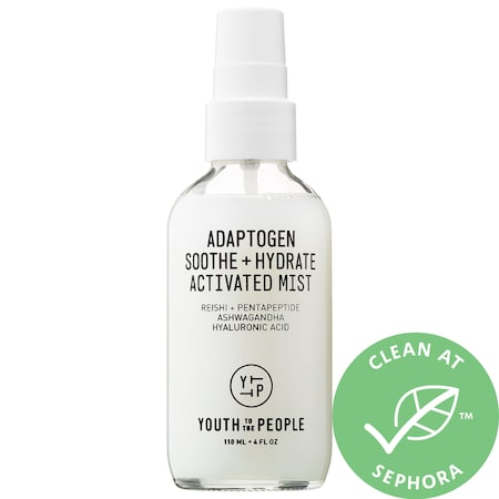 Youth To The People Adaptogen Soothe + Hydrate Activated Mist with Reishi + Ashwagandha 4 oz/ 118 mL