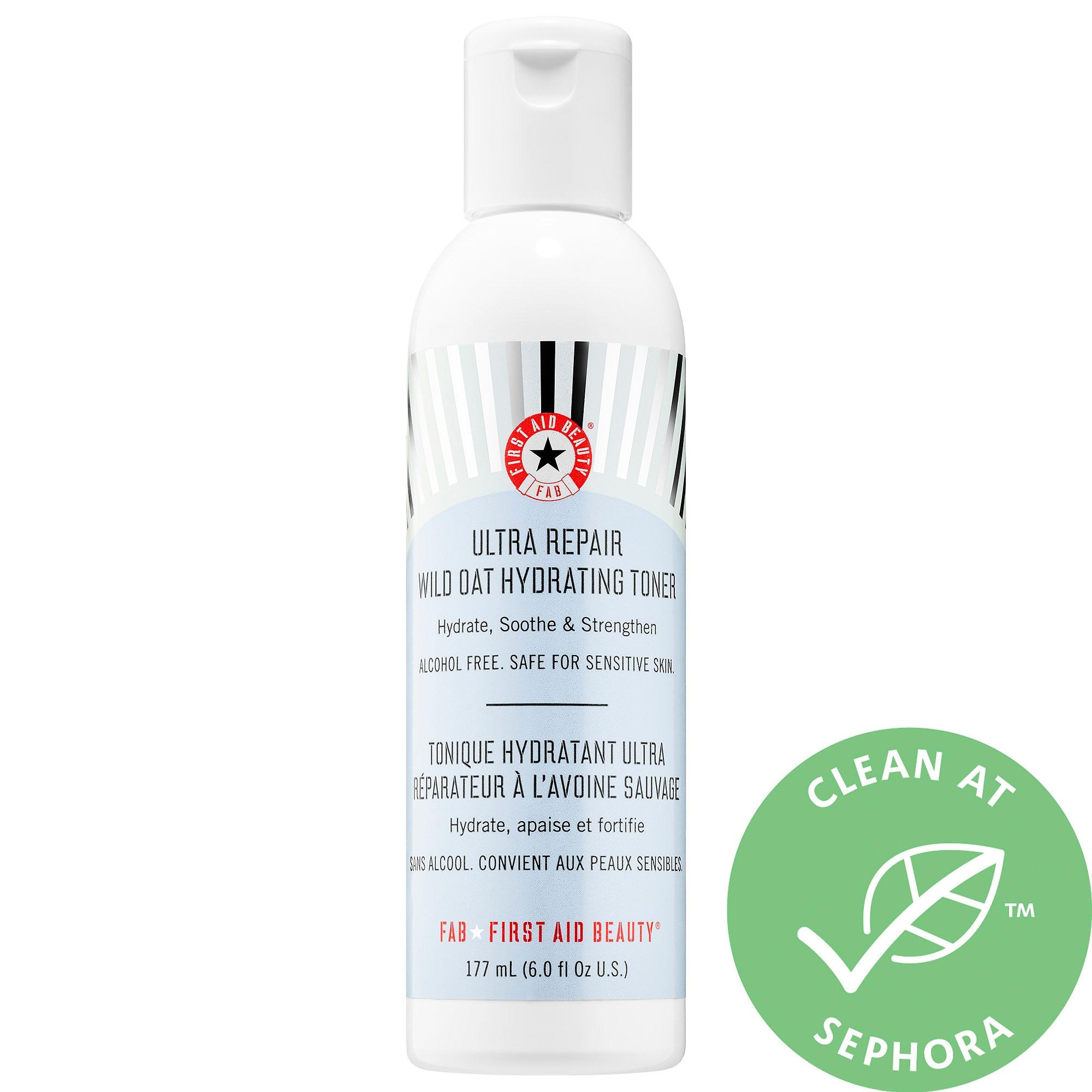 First Aid Beauty Ultra Repair Wild Oat Hydrating Toner 6 oz/ 177 mL