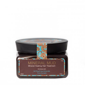 Saphira Mineral Mud Hair Mask Deep Conditioner Healing Treatment Enriched with 26 Dead Sea Minerals and Pure Keratin 8.5 Oz / 250 Ml