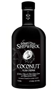 Brintey Gold Shipwreck Coconut Rum Cream