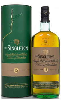 Singleton of Glendullan Scotch Single Malt 15 Year