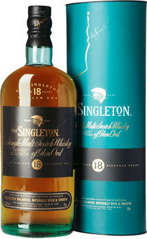 Singleton of Glendullan Scotch Single Malt 18 Year
