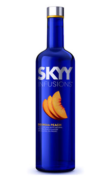 Skyy Vodka Infusions George Peach