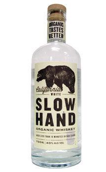 Slow Hand California White Organic Whiskey