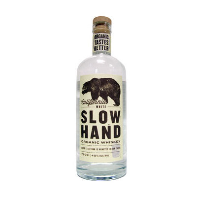 Slow Hand California White Organic Whiskey