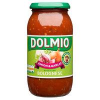 DOLMIO® Sauce for Bolognese Onion & Garlic 500g
