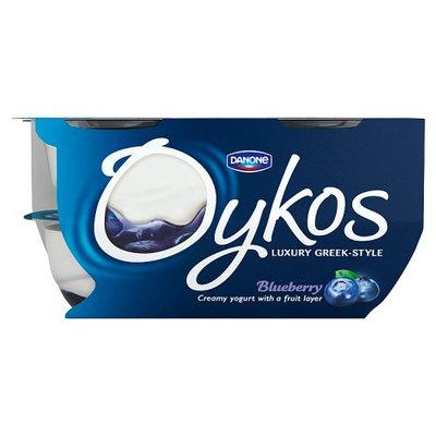 Oykos Luxury Greek-Style Blueberry Yogurt 4 x 110g (440g)
